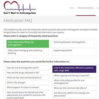 Medication FAQ
